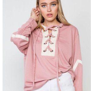 Pink Sweatshirt *stayathome